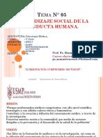 Aprendizaje Social d La Conducta