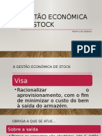 Gestão Económica Do Stock