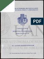 CASOS PRÁCTICOS DE ESTRUCTURA ORGANIZACIONAL.PDF