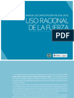 Manual de Capacitación Policial en El Uso Racional de La Fuerza