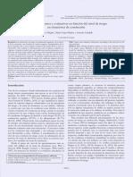 Conductas Urgentes y Evaluativas en Funcion Del Riesgo en Conduccion