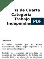 IR 4ta Categoría