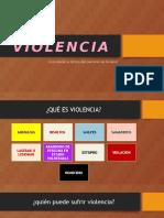 Presentación Sobre Violencia