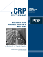 Bus and Rail Transit Preferential Treatments in Mixed Traffic