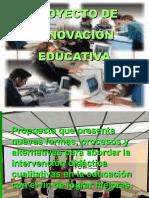 PROYECTO DE INNOVACIÓN EDUCATIVA.ppt