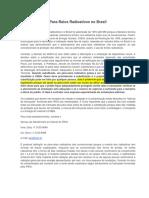 Pára-raios Radioativos No Brasil