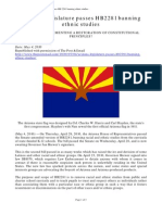 Debra Mullins - Arizona Legislature Passes HB2281