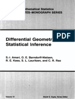 Differential Geometry in Statistical Inference