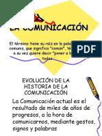 Historia de La Comunicación