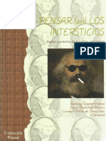 219178869 Pensar en Los Intersticios Teoria y Practica de La Critica Poscolonial