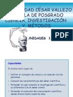 Ciencia, Investigacion y Metodos PPT