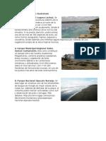 Areas Protegidas de Guatemala
