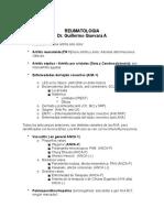 Apunte Reumatología