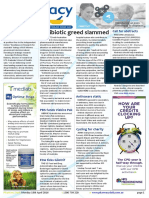 Pharmacy Daily for Mon 18 Apr 2016 - Antibiotic greed slammed, Safe-birthing kits for Africa, Direct S3 advertising alive, Weekly Comment and much more