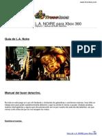 Guia Trucoteca La Noire Xbox 360