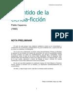 Capanna Pablo - El Sentido de La Ciencia Ficcion