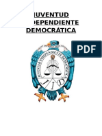 Plan de Trabajo de Juventud Independiente Democratica Modificado