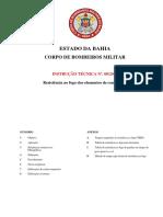 INSTRUÇÃO TÉCNICA Nº. 08-2016 - Resistência Ao Fogo Dos Elementos de Construção