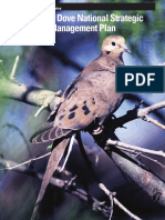 mourning dove national strategic harvest management plansm