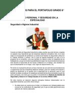 Documentos Para El Portafolio Grado 8