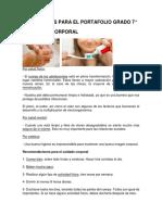Documentos Para El Portafolio Grado 7