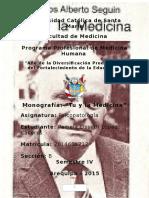Monografía Tu y La Medicina
