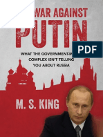 The War Against Putin - M S King