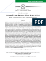 Epigeética y Diabetes
