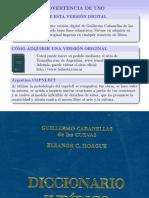 Diccionario Cabanellas Inglés-español 1