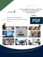 Ciclo Operativo de la ONPE