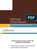 Fístulas intestinales