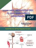 Control Nervioso del Flujo Sanguineo Coronario