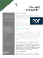 Training the Breath