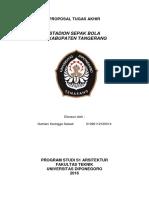Proposal Ta Stadion Sepak Bola Kab.tang