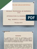 Introduccion a La Ingenieria Civil i