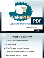 CakePHP Consultant