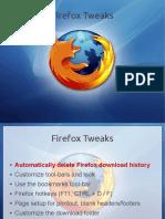Firefox Tweaks