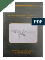 Manual de Instrução Metralhadora Mt Calibre .40 s&w