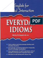 English for Social Interaction Everyday Idioms