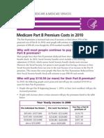 Medicare Part B Premium Fact Sheet