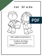Lectoescritura - Cuaderno de Trabajo
