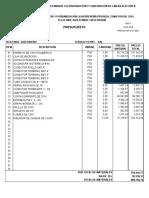 Formato de Presupuesto La Barinesa.