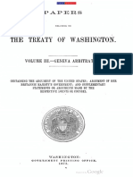 Papers Related to the Treaty of Washington Vol.3 Geneva Arbitration 1873
