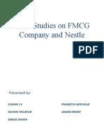 Presentation on Fmcg sector (HLL) and Nestle