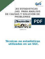 Capacitacion Tecnicas Estadisticas Para El Analisis de Datos