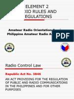 Revised PARA Element2 Radio Laws.pptx