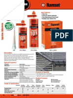 Chemical Anchoring ChemSet 101Plus Catalogue Page
