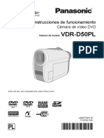 Descargaspla Pla Digitales Filmadoras Sd Vdr-d50pl Documento Manual de Usuario Vdr-d50pl Om Esp