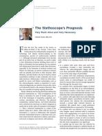 The Stethoscope's Prognosis
