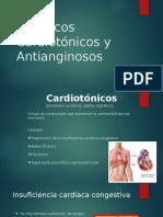 Fármacos Cardiotónicos y Antianginosos